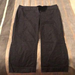Loft Denim Capri Pants Size 10